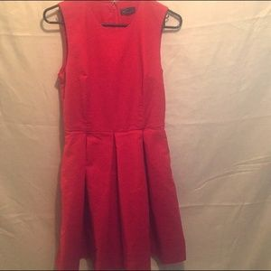 Red Gap Dress WITH POCKETS!